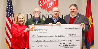 Ascentra Members Support Salvation Army