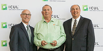 Volunteer Cooperative Spirit Award Larry Ridenour