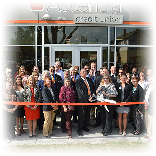 Ribbon cutting for Ascentra branch expansion