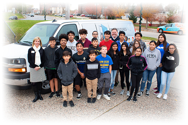 Van donated to Boys and Girls Club of the Mississippi Valley