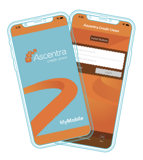 Ascentra mobile app on cell phones